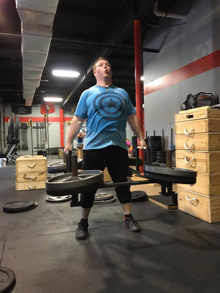 Strongman Frame Deadlift