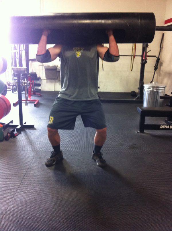 Gym Log Press